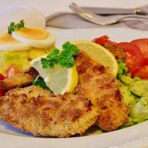 Spezielle Schnitzel Gerichte